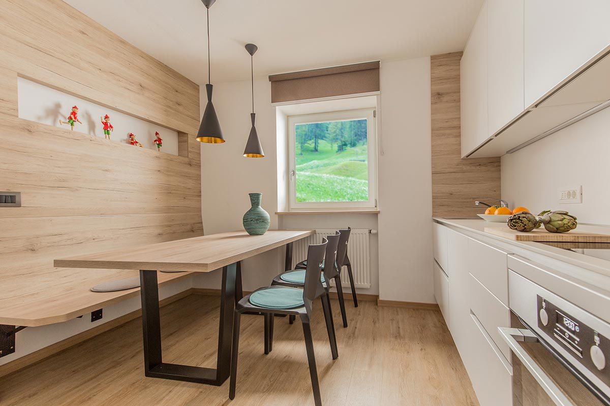 Kitchen apartment - Saslonch